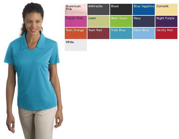 15ef3d1db Nike Golf - Ladies Dri-FIT Micro Pique Polo. (354067) - Ladies Shirts