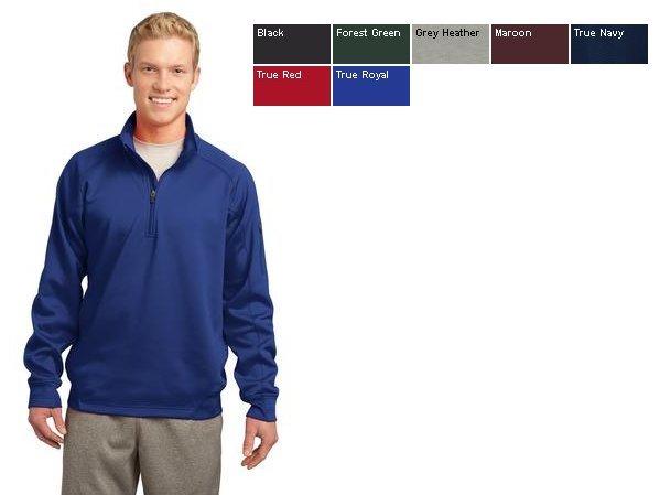 5270278c163 Sport-Tek® - Tech Fleece 1 4-Zip Pullover. F247